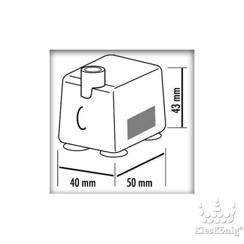 seliger pumpe 320 l mit beleuchtung f r zimmerbrunnen 25 90 eu. Black Bedroom Furniture Sets. Home Design Ideas