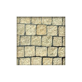 Granit Granitpflaster Pflasterstein Gelb 9//11 cm