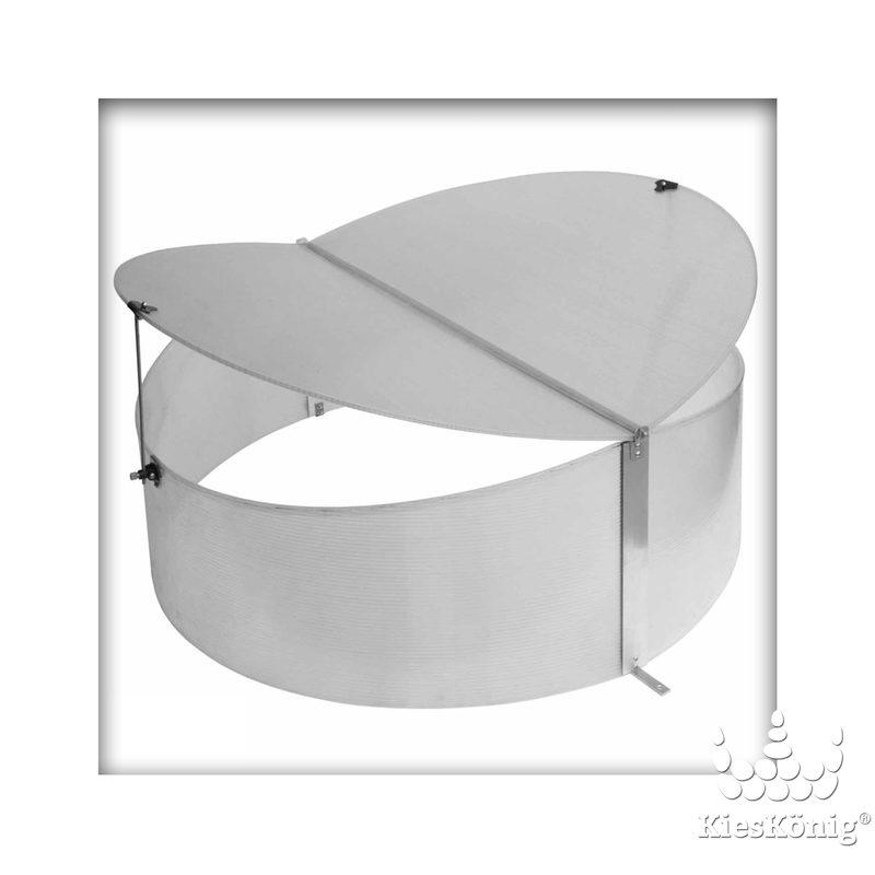 bellissa fr hbeet rund gew chshaus treibhaus fr hbeetk. Black Bedroom Furniture Sets. Home Design Ideas