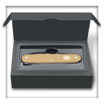Victorinox Pioneer, 93 mm, Alox Limited Edition 2019, Champagner-Gold